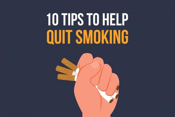 10 self-help tips to stop smoking