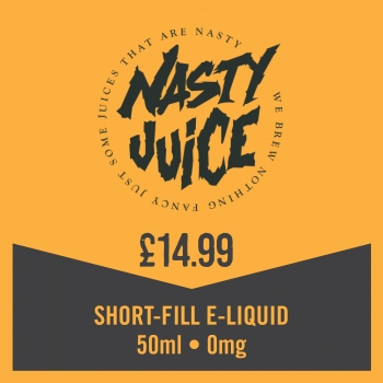 Nasty Juice Ballin - 50ml for 14.99 + x1 Nic Shot for £1