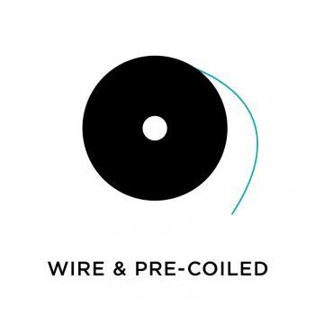 Wire + Pre-Coiled