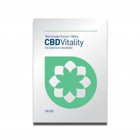 CBD Vitality 10ml Cannabis Tincture