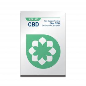 Alfa Labs CBD 10ml Cannabis Tincture